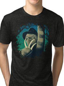 Sloth Freddy Tri-blend T-Shirt