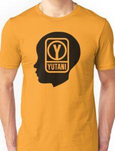 YUTANI Corporate Logo (Head version) [Black] Unisex T-Shirt
