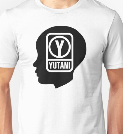 YUTANI Corporate Logo (Head version) [Black] Unisex T-Shirt