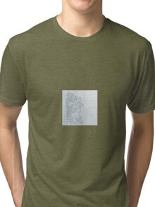 Flowers-Floral- Tri-blend T-Shirt
