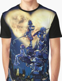 Kingdom Hearts Book Graphic T-Shirt