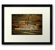 The Robert E Lee Paddle Wheeler Framed Print
