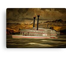 The Robert E Lee Paddle Wheeler Canvas Print