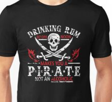 rum pirate Unisex T-Shirt