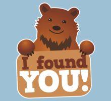 I found you BEAR Baby Tee
