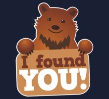 I found you BEAR Kids Tee