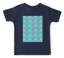 Doughnuts and dots pattern Kids Tee