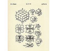 Rubik's Cube-1983 Photographic Print