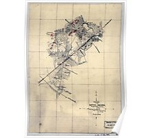250 Sketch of the battle of Bristoe Wednesday Oct 14 1863 Poster