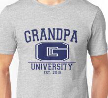Grandpa University EST. 2016 Unisex T-Shirt