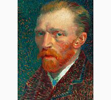 1887-Vincent van Gogh-Self-portrait-32 x 41 Unisex T-Shirt