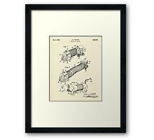 Surprise Toy Vehicle-1958 Framed Print