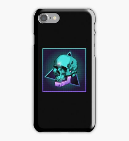 Sci-fi Skull iPhone Case/Skin