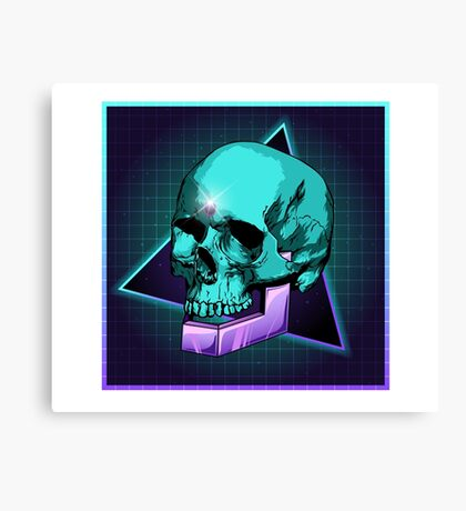 Sci-fi Skull Canvas Print