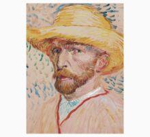 1887-Vincent van Gogh-Self-portrait-32,9x40,8 One Piece - Short Sleeve