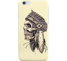 tribal chief iPhone Case/Skin