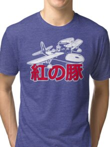 Red Pig Tri-blend T-Shirt