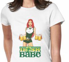 Irish Babe - Girl Variant Womens Fitted T-Shirt