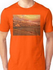 Sydney in Gold. Sunset. Unisex T-Shirt