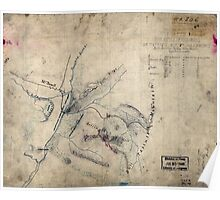 253 Sketch of the battle of McDowell on Thursday May 8th 1862 Jackson Poster
