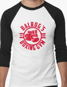 Balrog's boxing gym Men's Baseball ¾ T-Shirt