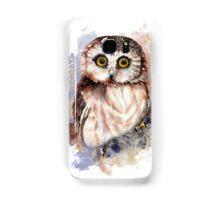 Watercolor Cute Owl Bird Samsung Galaxy Case/Skin