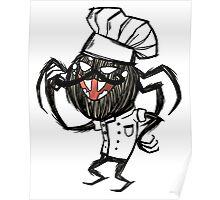 Chef Webber - Don't Starve Poster