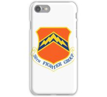 56th Fighter Wing Shield iPhone Case/Skin