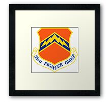 56th Fighter Wing Shield Framed Print