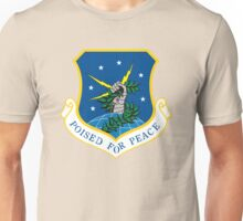 """91th Missile Wing """"Poised for Peace"""" Unisex T-Shirt"""