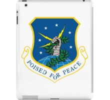 """91th Missile Wing """"Poised for Peace"""" iPad Case/Skin"""
