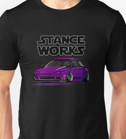 Honda Civic JDM stancework Unisex T-Shirt