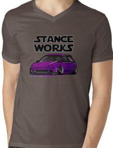 Honda Civic JDM stancework Mens V-Neck T-Shirt