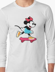 Minnie Mouse Skate Long Sleeve T-Shirt