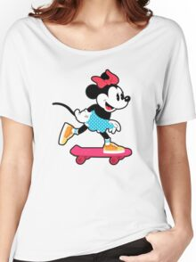 Minnie Mouse Skate Women's Relaxed Fit T-Shirt
