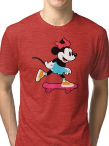 Minnie Mouse Skate Tri-blend T-Shirt