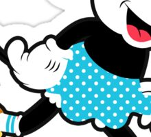 Minnie Mouse Skate Sticker