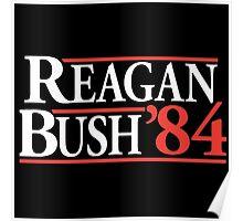 REAGAN Bush Poster