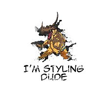I'm Styling Dude - Greymon Photographic Print