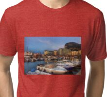Ocean Village, Gibraltar Tri-blend T-Shirt