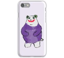 Shy Bear (Joker) iPhone Case/Skin