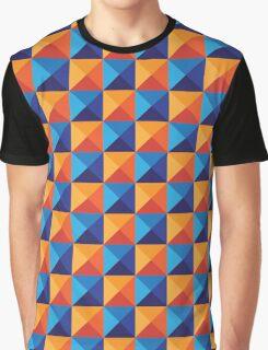Triangular texture Graphic T-Shirt