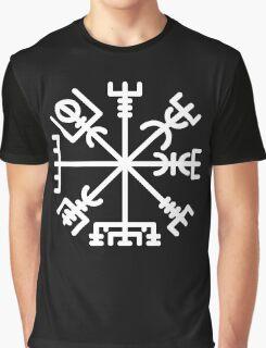 Vegvisir White Graphic T-Shirt