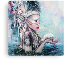 Yolandi The Rat Mistress 	 Canvas Print