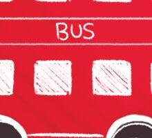 London Bus Sticker