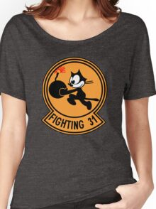 """VFA-31 Strike Fighter Squadron 31 """"Tomcatters"""" Women's Relaxed Fit T-Shirt"""
