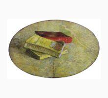 1887-Vincent van Gogh-Three books-31x48 Kids Tee