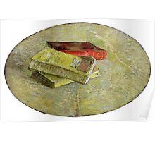 1887-Vincent van Gogh-Three books-31x48 Poster