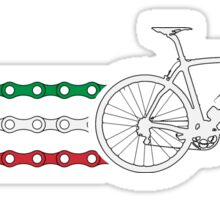 Bike Stripes Italy - Chain Sticker