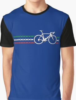 Bike Stripes Italy - Chain Graphic T-Shirt